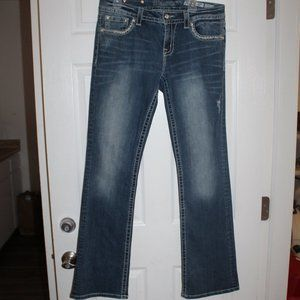 Miss Me Women size 30 Relaxed Boot Jeans